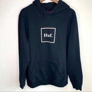 Huf black men's hoodie size XL